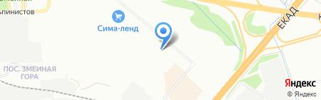 Банкомат Промсвязьбанк на карте Екатеринбурга