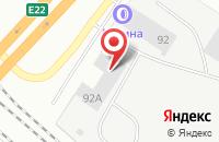 Схема проезда до компании Квадратный Метр в Екатеринбурге