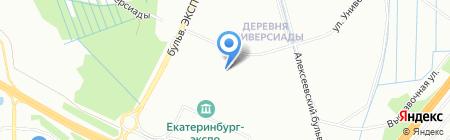 Ф-Сервис на карте Екатеринбурга
