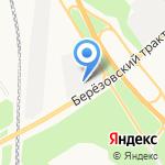 Светофор на карте Берёзовского