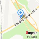 СпецТрансАвто на карте Берёзовского