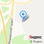 ДИП на карте Берёзовского
