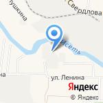 Уралат-мебель на карте Большого Истока