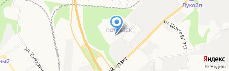 Продовольственный магазин на карте Берёзовского