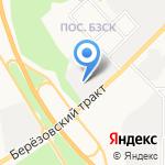 Автобан-RENAULT на карте Берёзовского