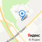 Сантехснаб на карте Берёзовского