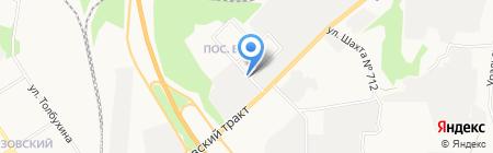 Уралэнергочермет-Металл на карте Берёзовского