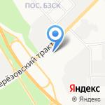 М-Газ на карте Берёзовского