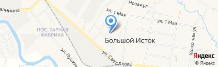Уральский Деловой Центр на карте Большого Истока