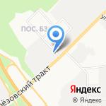 АВТОСИЛА на карте Берёзовского