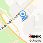 СтройКомплект на карте Берёзовского