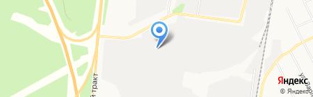 САНЭНЕРГО на карте Екатеринбурга