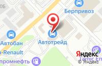 Схема проезда до компании Мир автомобильных колес в Берёзовском