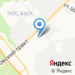 Мир автомобильных колес на карте Берёзовского