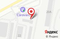 Схема проезда до компании Proweb в Берёзовском