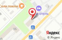 Схема проезда до компании Две-Двери в Берёзовском