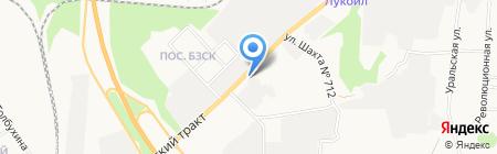 Найс Авто на карте Берёзовского