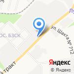 Велолидер на карте Берёзовского