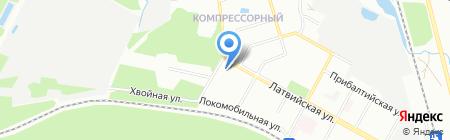 Средняя общеобразовательная школа №53 с углубленным изучением отдельных предметов на карте Екатеринбурга