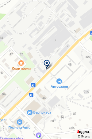 ГРУППА КОМПАНИЙ ХИТ СЕЗОНА на карте Березовского