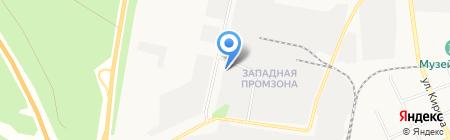 Завод железобетонных опор на карте Берёзовского