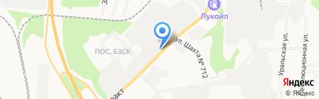 Детали машин ГАЗ на карте Берёзовского