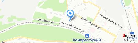 Детский сад №524 на карте Екатеринбурга