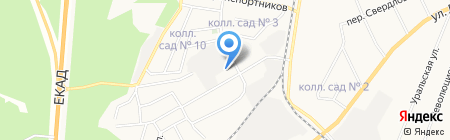 Амброзия на карте Берёзовского
