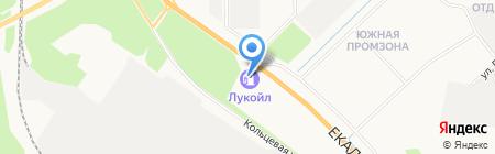 АЗС ЛУКОЙЛ на карте Берёзовского