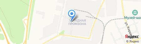 Фирма-Реал на карте Берёзовского