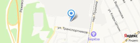 Баум дизайн на карте Берёзовского