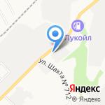 Плаострой на карте Берёзовского