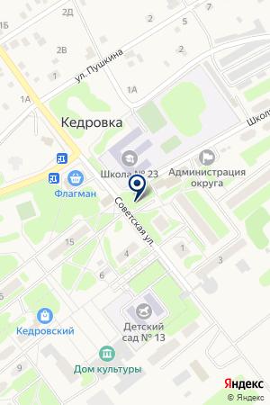 Тоник плюс на карте Кедровки