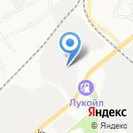Березовский рудник на карте Берёзовского