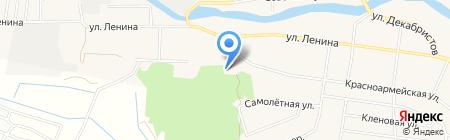Приход во имя Святого преподобного Сергия Радонежского на карте Большого Истока
