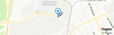 СМАРТ СНЕК на карте Берёзовского
