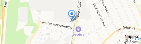 Трак Инжиниринг на карте Берёзовского