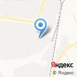 Промбаза Восток на карте Берёзовского