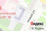 Схема проезда до компании Грация в Екатеринбурге