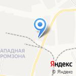 Уральский Гранит на карте Берёзовского