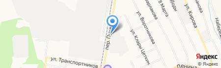 СТРОЙПЛИТ на карте Берёзовского