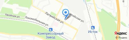 КАРИ на карте Екатеринбурга