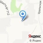 Люмна на карте Берёзовского
