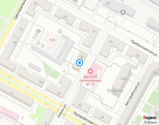 Управляющая компания «Пионер» на карте Екатеринбурга
