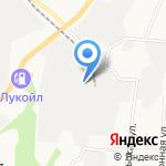 Водолей-2 на карте Берёзовского