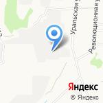 Опус ТД на карте Берёзовского