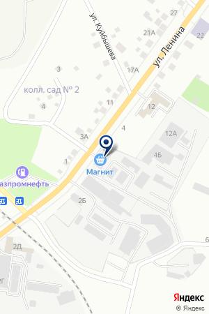 Царская Трапеза на карте Берёзовского