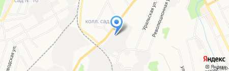 Русклимат-Екатеринбург на карте Берёзовского