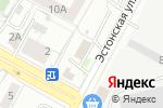 Схема проезда до компании VSE-ЗАПЧАСТИ в Екатеринбурге