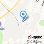 Металия на карте Берёзовского